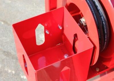 Asphalt-release-agent-dispenser-holder