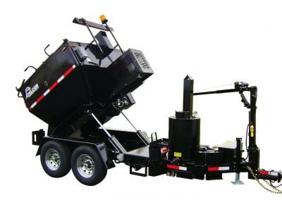 Falcon-4-ton-pavement-recycler-and-heater-trailer-with-heated-tack-tank-lighting-options-and-hoist-for-plate-compactor