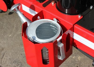 Pour-Pot-with-bracket-on-the-Falcon-asphalt-recycler-hot-box-trailer-2