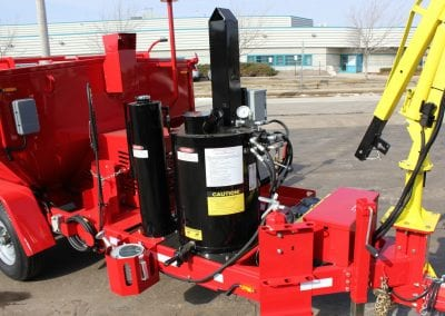 Pour-Pot-with-bracket-on-the-Falcon-asphalt-recycler-hot-box-trailer