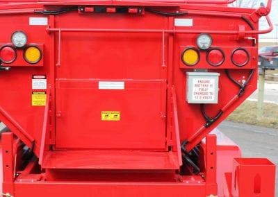 Release-agent-dispenser-holder-on-the-Falcon-asphalt-reclaimer-and-heater-1