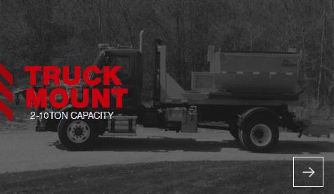 Truck Mount 2-10 Ton Capacity Fixed